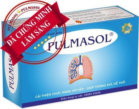 Pulmasol là sản phẩm chuyên biệt cho bệnh nhân hen phế quản, COPD cả cấp độ vừa và nặng