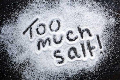 Hạn chế ăn muối, hạn chế các cơn ho, khó thở